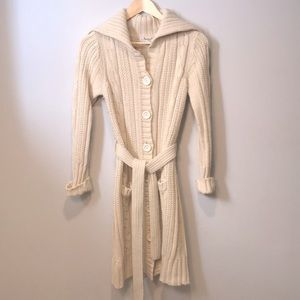 Jessica Sport Long Knitted Cardigan XS